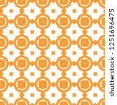 seamless geometric ornamental... | Shutterstock .eps vector #1251696475