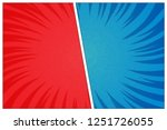 versus battle template with two ... | Shutterstock .eps vector #1251726055