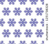 purple silhouette snowflakes ... | Shutterstock .eps vector #1251738328