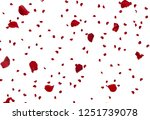 Stock photo rose petals stock image 1251739078