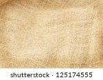 background of burlap hessian... | Shutterstock . vector #125174555