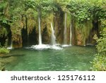 the lake national park of... | Shutterstock . vector #125176112