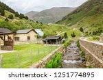 circa july 2018  nuria  spain ...   Shutterstock . vector #1251774895
