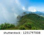 view point  mist on doi pha... | Shutterstock . vector #1251797008