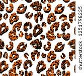 seamless endless abstract hand...   Shutterstock .eps vector #1251798235