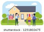 real estate agency  dealer....   Shutterstock .eps vector #1251802675