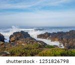 atlantic ocean coastline...   Shutterstock . vector #1251826798