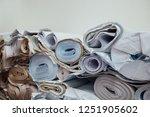 expired architecture rolls... | Shutterstock . vector #1251905602