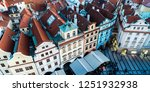 view on prague panorama with... | Shutterstock . vector #1251932938
