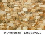 background wall of decorative... | Shutterstock . vector #1251939022