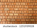 bricklaying of walls in a high... | Shutterstock . vector #1251939028