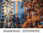 brick house from a red brick.... | Shutterstock . vector #1251940192