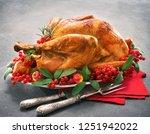 christmas or thanksgiving...   Shutterstock . vector #1251942022