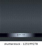 Silver Metallic Grid Background....