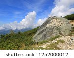 landscape with old stones in... | Shutterstock . vector #1252000012