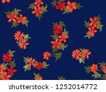 seamless pretty pattern in... | Shutterstock .eps vector #1252014772