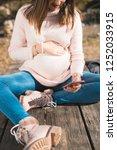 pregnancy  motherhood ... | Shutterstock . vector #1252033915