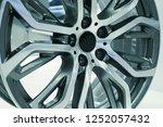close up car mag wheel... | Shutterstock . vector #1252057432