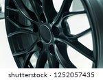 close up car mag wheel... | Shutterstock . vector #1252057435