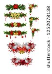 christmas elements for your... | Shutterstock .eps vector #1252078138