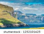beautiful scene of... | Shutterstock . vector #1252101625