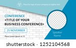 corporate announcement banner.... | Shutterstock .eps vector #1252104568