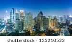 Bangkok City Night View ...