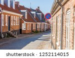ringkobing old beauty town in... | Shutterstock . vector #1252114015