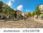 warnemunde rostock  germany  ... | Shutterstock . vector #1252130758