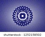 microchip  microprocessor icon... | Shutterstock .eps vector #1252158502