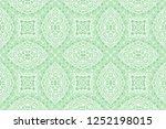 ethnic abstract zentangle...   Shutterstock .eps vector #1252198015