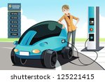 a vector illustration of a man... | Shutterstock .eps vector #125221415