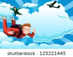 a vector illustration of people ... | Shutterstock .eps vector #125221445