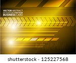 abstract business background  ... | Shutterstock .eps vector #125227568