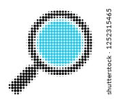 search loupe halftone dotted... | Shutterstock .eps vector #1252315465