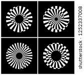 design elements set. abstract... | Shutterstock .eps vector #1252337008