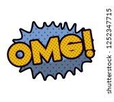 omg comic words in speech...   Shutterstock .eps vector #1252347715