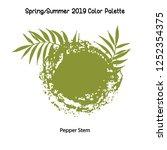 spring summer 2019 color... | Shutterstock .eps vector #1252354375