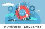 engineering vector illustration.... | Shutterstock .eps vector #1252357465