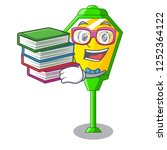 student with book character a... | Shutterstock .eps vector #1252364122