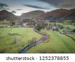Aerial View Of Grasmere Village ...