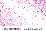 valentine background with pink... | Shutterstock .eps vector #1252412728