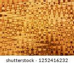art abstract yellow brown... | Shutterstock . vector #1252416232