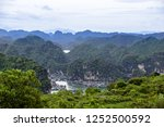 halong bay fishermans village | Shutterstock . vector #1252500592