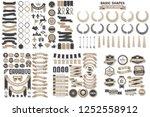 vintage retro vector logo for... | Shutterstock .eps vector #1252558912