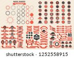 vintage retro vector logo for... | Shutterstock .eps vector #1252558915