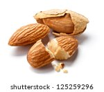 almond | Shutterstock . vector #125259296