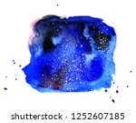 cosmic background. colorful... | Shutterstock . vector #1252607185