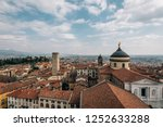 a view of citta alta  in... | Shutterstock . vector #1252633288