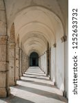 arches at certosa di san... | Shutterstock . vector #1252633732